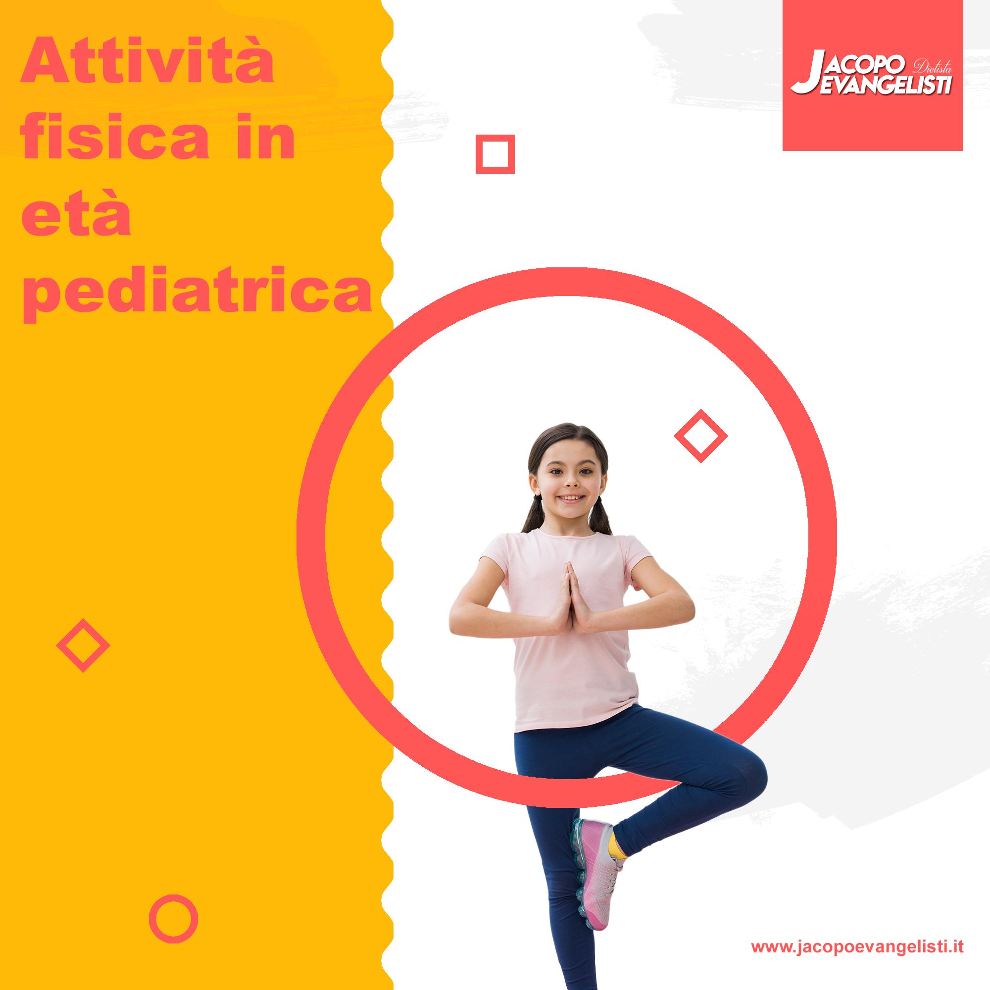 Attività fisica in età pediatrica